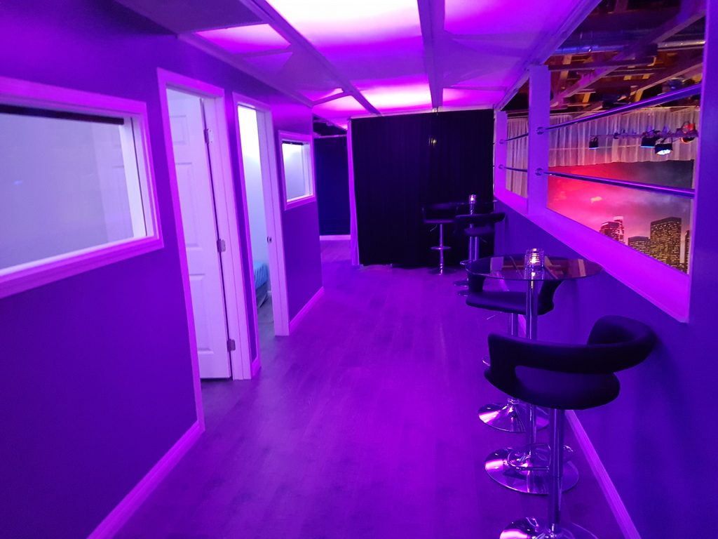 Balcony Purple