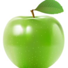 Fresh Apple head