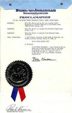 Bill Clinton Letter