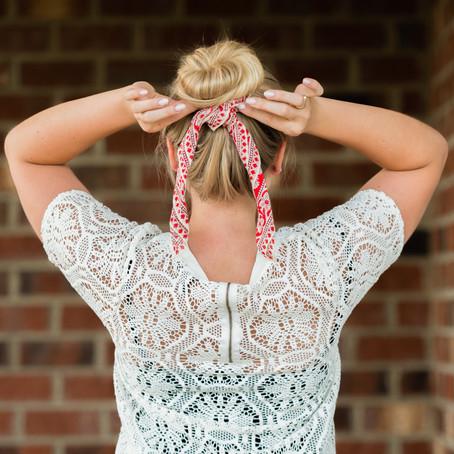 Hair : 3 Ways to Wear a Scarf