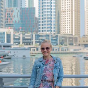 Marina walk, Dubai