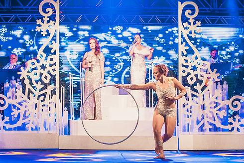 Espetáculo Natal Branco - Foto de Sergio