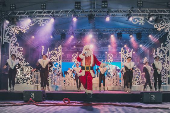 Espetáculo Natal Branco