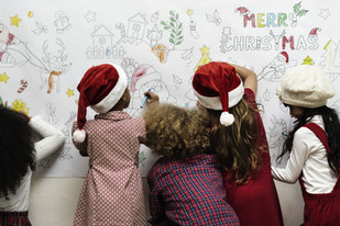 Calling on kids to send Santa Mail to the North Pole