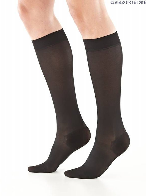 Neo G Energizing Daily Wear Knee High - Black - Large