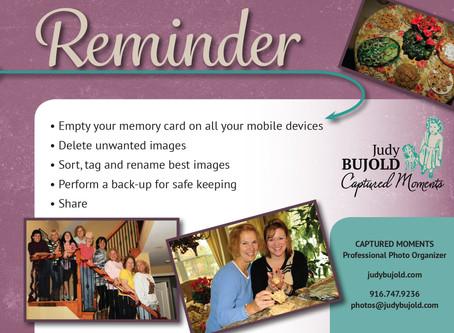 Holiday Photo Reminder