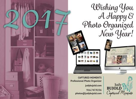 Wishing you a Happy & Photo Organized New Year!  2017