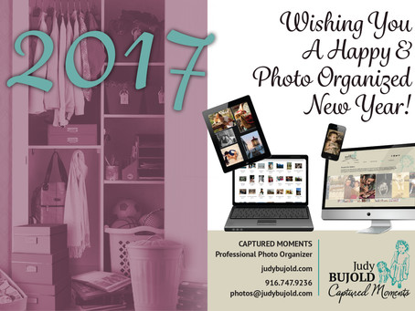 Wishing you a Happy & Photo Organized New Year!  2017