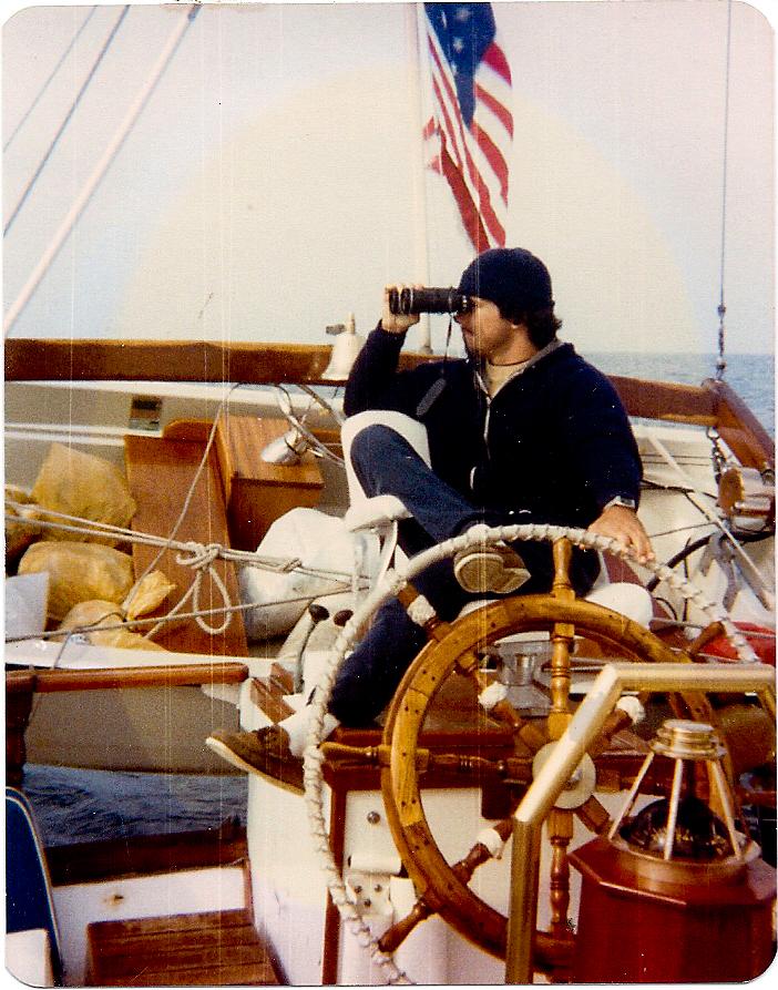 David Bujold - sail trip