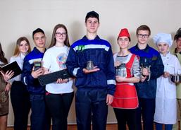 Студенты Приморского индустриального колледжа поздравляют всех преподавателей, мастеров п/о