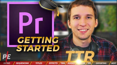 ParEdits Tutorial | 10 Things to Do When Getting Started in Premiere Pro (Adobe Premiere Pro 2018)