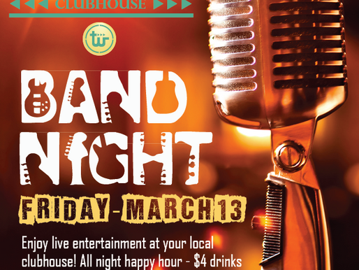 JT's Band Night - Friday the 13th