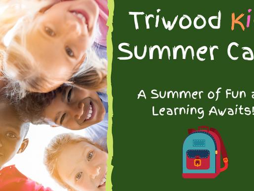 Triwood Kids Summer Camp 2020 registration