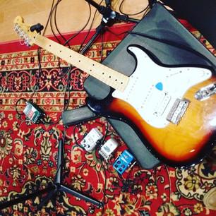 Recording at Berklee Studios 2
