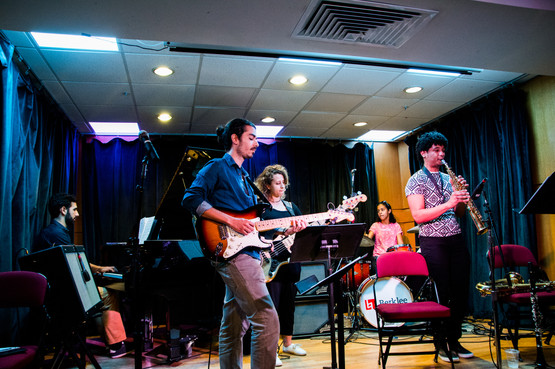 Irizarry and Roots performing at @Berklee 1w