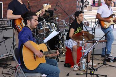 Performing with Sofia Quinonez