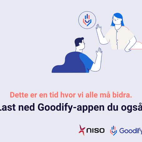 Mobiliserer alle NISO-medlemmer til å bidra via Goodify
