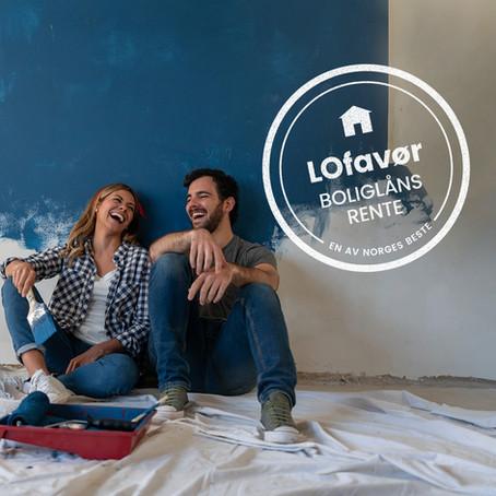 Lavere boliglånsrente med LOfavør
