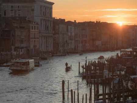 Sunset Gondola on Water w-Soft Mist.jpg