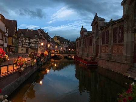 sunrise town and water bridge.jpg