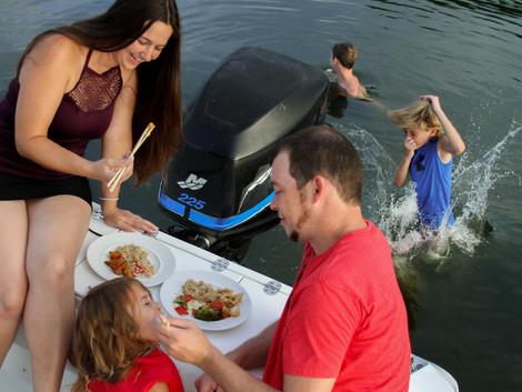 familydinnerandswim.jpg