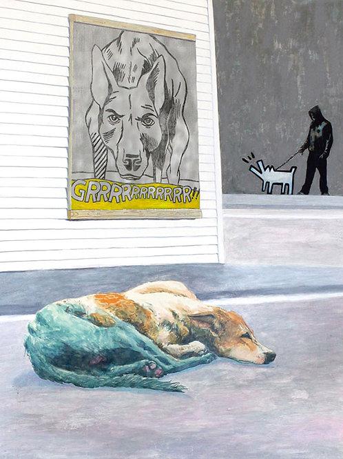 Les limites de l'art Les-chiens du quartier