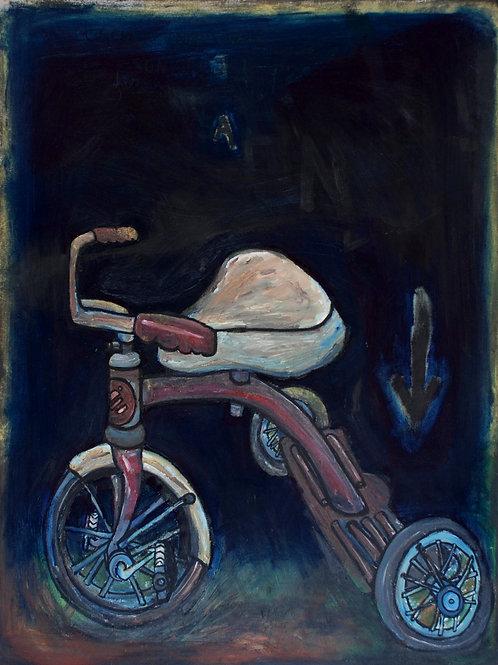 Le tricycle de France P.