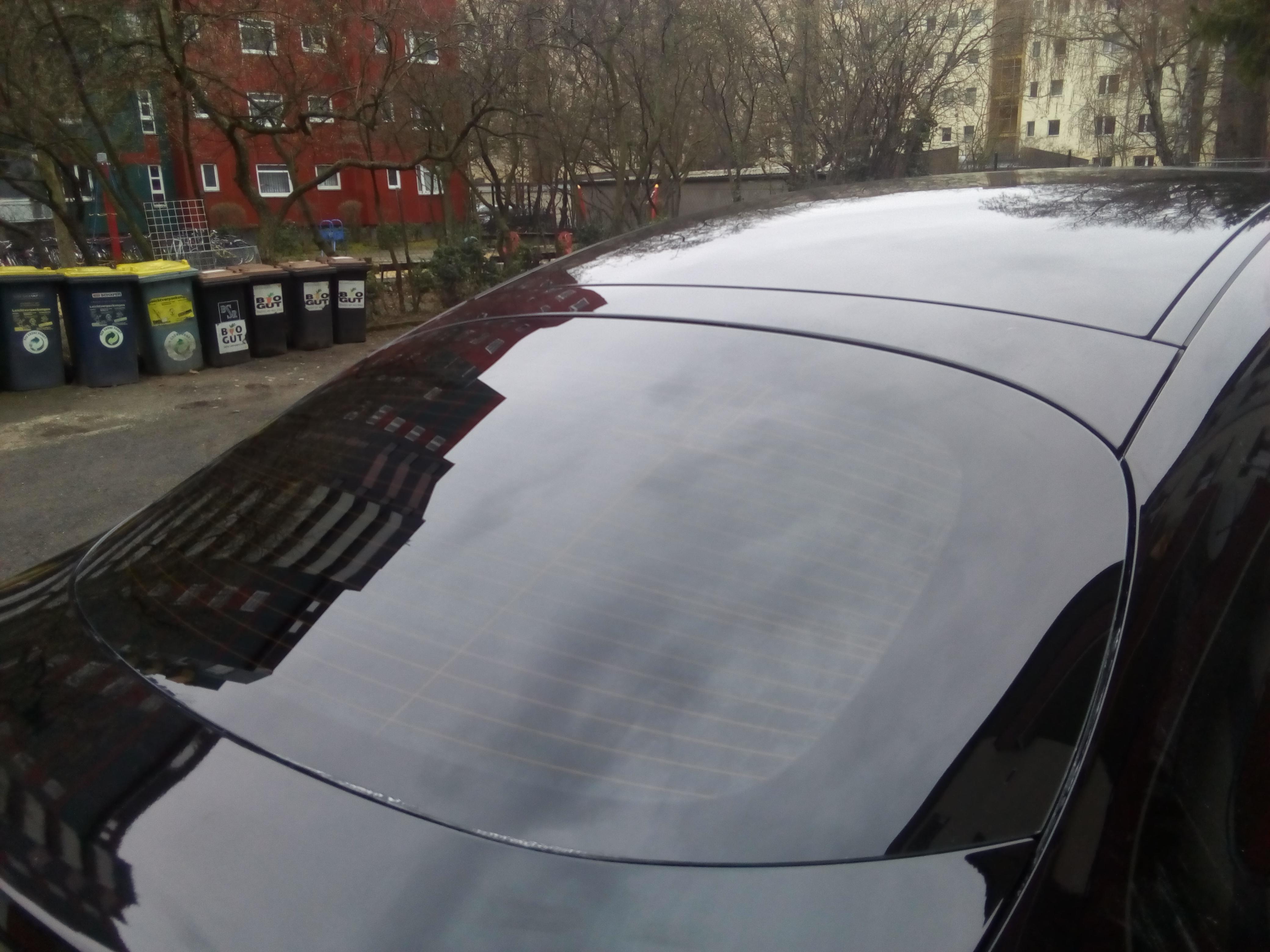 Heckscheibentönung GLC  Coupe