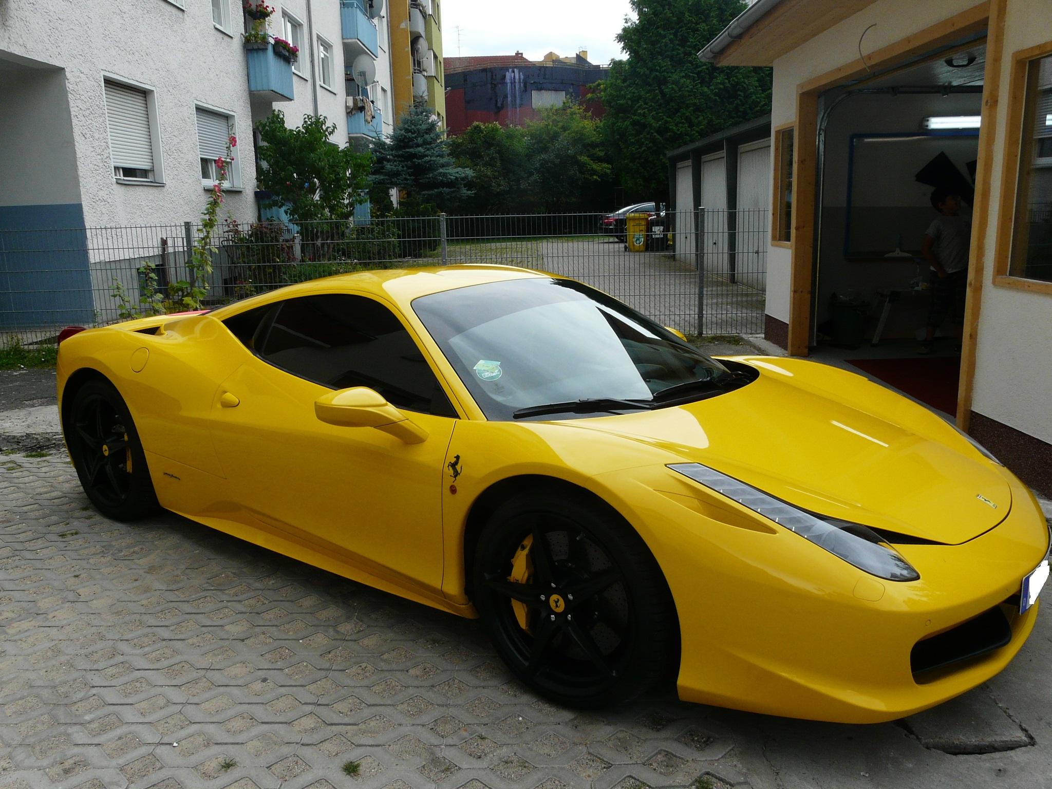 Scheibentönung Ferrari Berlin