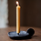Thumbnail: Cast Iron Candle Holder with Handle by Tadahiro Baba