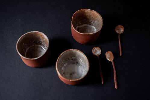 Small Cup & Spoon by Saara Kaatra