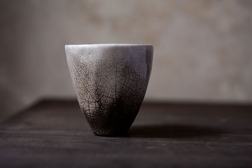 Pit-Fired Small Cup by Marie-Annick Le Blanc