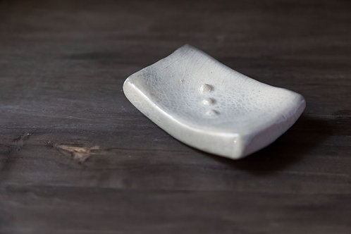 Pit-Fired Soap Dish by Marie-Annick Le Blanc