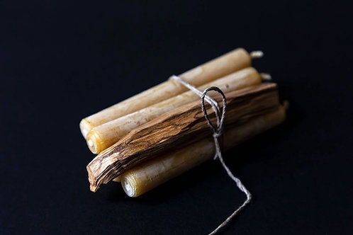 Palo Santo & Bee wax Candle