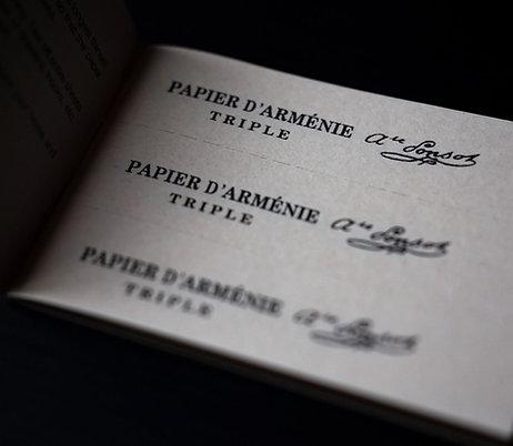 Papier d'Arménie - Paper Incense