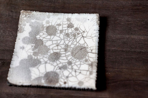 Raku Plate II by Marie-Annick Le Blanc