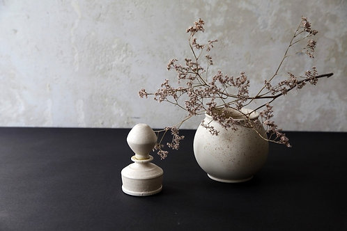 Recycled Porcelain Vase by Cuze