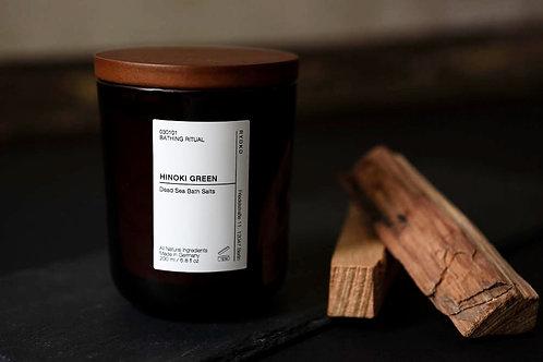 Dead Sea Bath Salt : Hinoki Green