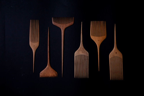 [Antique] Wooden Tsuge Comb