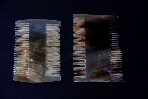 Two Side Horn Hair Comb