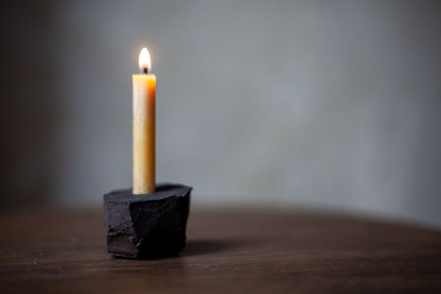 Ceramic Candle Holder III by atelier RYOKO