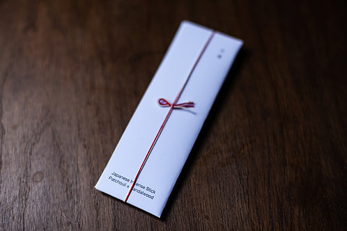 Patchouli x Sandalwood Incense Sticks