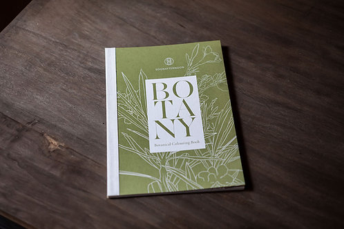 Botanical Colouring Book by Soonafternoon