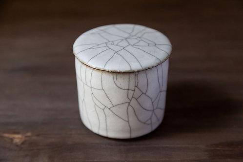 Ceramic Jar with Lid by Shiho Takada
