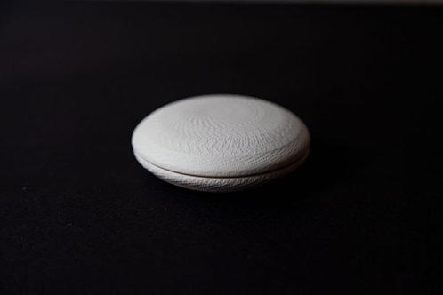Porcelain Lidded Pot by Cuze