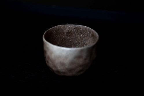 Raku Tea Cup by Marie-Annick Le Blanc