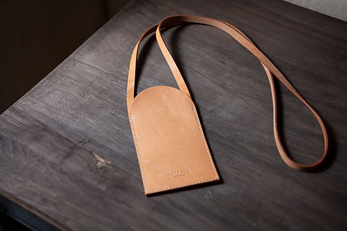 """Sustainable Leather Phone case """"ERA"""" with Straps by LEIT & HELD"""