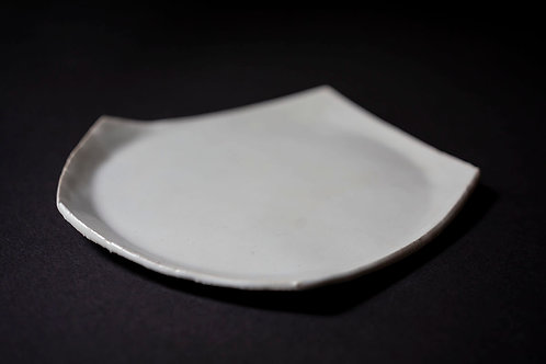 Porcelain Plate by Christine Roland