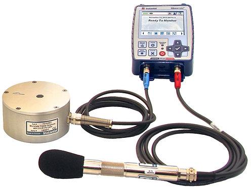 Sismógrafo para Monitoreo de Vibración de 04 canales Micromate de Instantel