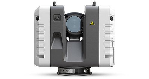 Escáner láser 3D Leica modelo RTC360 para captura de entornos 3D en tiempo real para topografía minera
